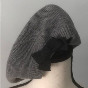 Kate Spade 100% Wool Beret with Bow